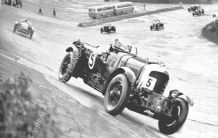 Bentley Blower  G Kidston/ J Dunfee  1930 Brooklands Double 12 Race